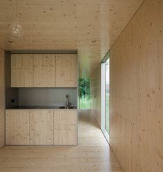 prefabricated MIMA light dwelling appears to levitate above the ground