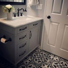 Bathroom decor for the master bathroom renovation. Learn bathroom organization, master bathroom decor ideas, bathroom tile tips, master bathroom paint colors, and much more. Bathroom Niche, Bathroom Renos, Bathroom Shelves, Bathroom Organization, Bathroom Storage, Master Bathroom, Bathroom Ideas, Bathroom Inspiration, Bathroom Hardware