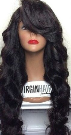 We offer virgin Human Hair Extensions,Hair Weave,Lace Closure and Lace Wigs for women with high quality and good price, Hair Extensions in latest hair style. Natural Hair Styles, Long Hair Styles, Hair Laid, Jackson, Wig Styles, Thing 1, Human Hair Extensions, Gorgeous Hair, Human Hair Wigs