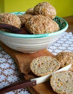 Gluten Free Baking, Vegan Gluten Free, Gluten Free Recipes, Healthy Bread Recipes, Healthy Baking, Lunch Snacks, Easy Snacks, Cooking Bread, Vegan Bread