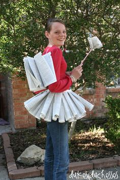 book fairy costume