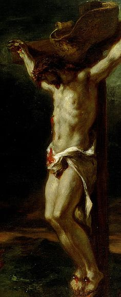 The Sorrowful Mysteries: The Crucifixion CRISTO -DELACROIX