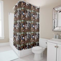 Gibsons Barber Shop Shower Curtain