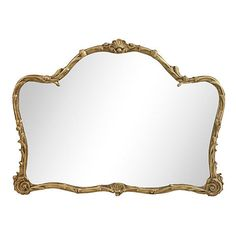 Pre-Owned Gilded Floral & Vine Mirror ($895) ❤ liked on Polyvore featuring home, home decor, mirrors, gold, floral home decor, gold gilt mirror, gold mirror, gold home decor and floral mirror