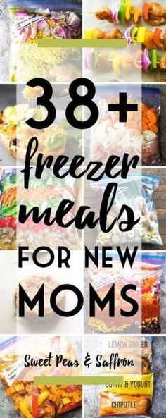 38 Healthy Freezer Meal Prep Dinners for New MomsFollow for  Mein Blog: Alles rund um Genuss & Geschmack  Kochen Backen Braten Vorspeisen Mains & Desserts!