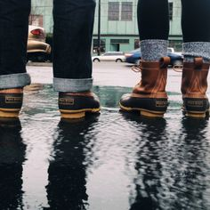ruggedgallery:  L.L. Bean // Bean Boots