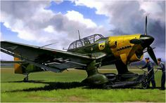Junkers Ju-87B-2 Stuka