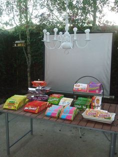 what can you use for seating outdoor for movie night | outdoor_movie_night2_inside_the_loop