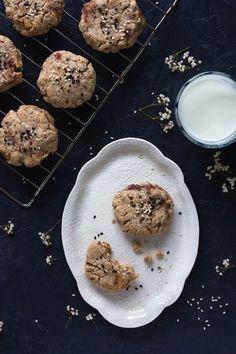 Cookies tahini et dattes {vegan} | Christelle is Flabbergasting