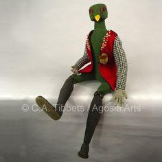 Elegant Trogon (Trogon elegans) by Carmen Alana Tibbets at Agosia Arts