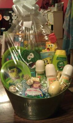 Teenage boy easter basket babyrificgifts easter baskets teenage boy easter basket babyrificgifts easter baskets for kids pinterest easter baskets and easter negle Image collections