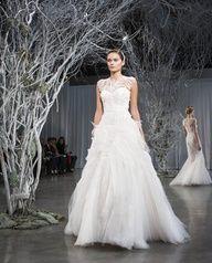 Monique Lhuillier Fall 2013 Collection via Weddingish Blog