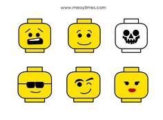 lego faces template - Google Search | Art Class - Fillers ...