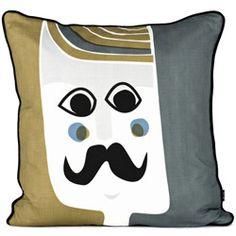 stijlvol zijden kussen - mr cushion
