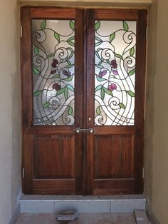 Custom stained glass windows by Jeanne of Creative Stained Glass