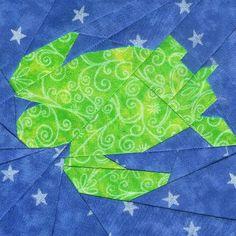 This is soooo cute! Sea Turtle quilt