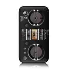 e_cell - Head Case Vintage Retro Boombox Case for Samsung Galaxy Ace S5830