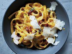 Winter Squash Carbonara with Pancetta and Sage Photo - Quick and Easy Pasta Recipes Recipe   Epicurious.com