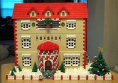 LEGO.com - City - Gallery - Santa's House 2012