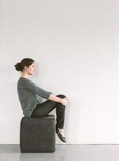 BRETON STRIPE TOP £59. TOAST JERSEY / Photograph by Rich Stapleton at @Cereal Magazine