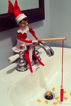 Get creative Elf on the Shelf ideas!