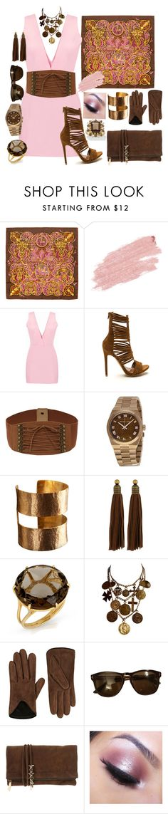 """Spring Day In The Plaza"" by nightnurse0441 ❤ liked on Polyvore featuring Hermès, Jane Iredale, Michael Kors, ADIN & ROYALE, Auden, Yves Saint Laurent, rag & bone, Tom Ford, Dsquared2 and Too Faced Cosmetics"