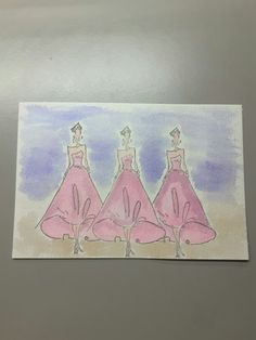 Stamps: runway girls by Tim holtz