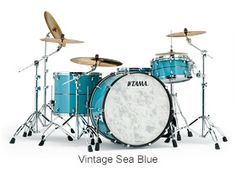 Tama Drums STAR Bop Kit in Vintage Sea Blue.