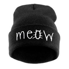 Fold Up Letters Beanie Hat (€9,45) ❤ liked on Polyvore featuring accessories, hats, head wear and gloves, headwear, beanie hat, fold beanie, beanie cap hat, foldable hat and beanie caps