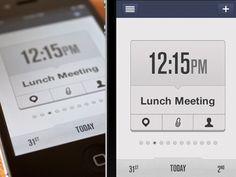 40 Inspiring iPhone App UI designs | Mustified