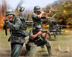 German Infantry, WWII (ドイツレベル)
