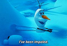 "You can find humor in any situation. | 19 Signs You're Olaf From ""Frozen"""