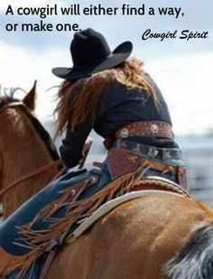 This is true!! #cowgirl #strong