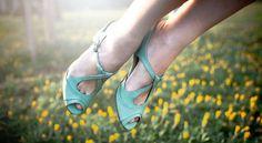 Nura Light Green Liebling Shoes Spring Summer 2013