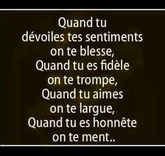 Poems and all about poetry True Quotes, Words Quotes, Life Hurts, French Quotes, Bad Mood, Positive Affirmations, True Stories, Quotations, Positivity