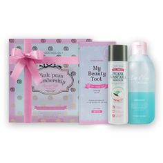 [Etude House] Pink Pass Membership Gift Remover Set Etude House, Cosmetics, Pearls, Gifts, Presents, Beads, Favors, Gift, Gemstones