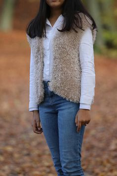 Items similar to Fluffy Knit Vest, Hand Knitted Vest Jacket, Cream Vest, Fluffy Lightweight Cardigan on Etsy Chunky Knit Cardigan, Knit Vest, Vest Jacket, Cream Vests, Hand Knitting, Trending Outfits, Unique Jewelry, Jackets, Etsy