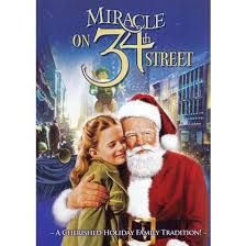 MIRACLE ON 34th STREET [1947] ~ When a nice old man, who claims to be the real Santa Claus, he is institutionalized as insane. A young lawyer decides to defence him by arguing in court that he IS the real thing.  Starring: Natalie Wood, Maureen O'Hara, John Payne, Edmund Gwenn and so many more. A HEART-WARMING STORY.