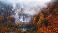 Autumn in Croatia  by Beboy Photograpy.  An early morning shot at Plitvice, Croatia.  www.beboyphoto.com
