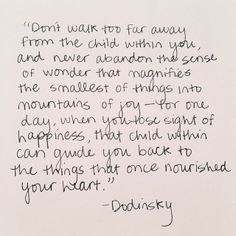 - Dodinsky, Author, of the NY Times bestseller In The Garden of Thoughts