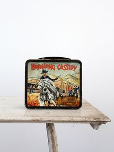 1954 Hopalong Cassidy Lunch Box from 86 Home