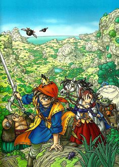 Dragon Quest VIII: Journey of the Cursed King (2005)
