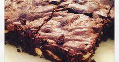 Brownies aux noix sans produit laitier, purée de noisettes, chocolat