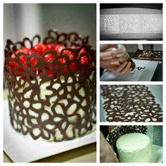 Amazing chocolate work