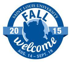 SLU #FallWelcome 2015 starts Aug. 14. Get the schedule. #SLUFW2015