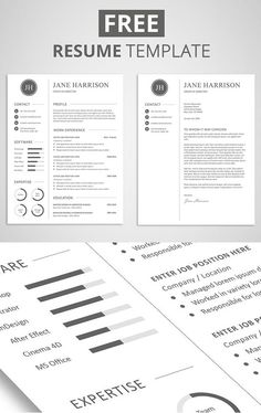 30+ Resume Templates for MAC - Free Word Documents Download | school ...