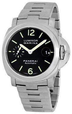 Panerai Men's PAM00298 Luminor Marina Automatic Black Dial Watch Panerai, http://www.amazon.com/dp/B003WJKQGO/ref=cm_sw_r_pi_dp_wz.Ypb101S1DE