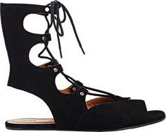 Chloé Lace-Up Gladiator Sandals - Flats - Barneys.com