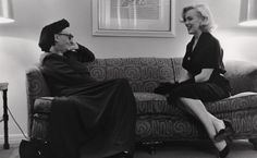 Edith Sitwell and Marilyn Monroe, 1953 Photograph by George Silk/LIFE.    Marilyn Monroe: A British Love Affair  Sep 29-Mar 24 2013 National Portrait Gallery, St Martin's  All exhibitions on at National Portrait Gallery Place, London, WC2H 0HE.