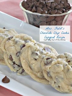 Mrs Field S Chocolate Chip Cookie Copycat Recipe Img 1724